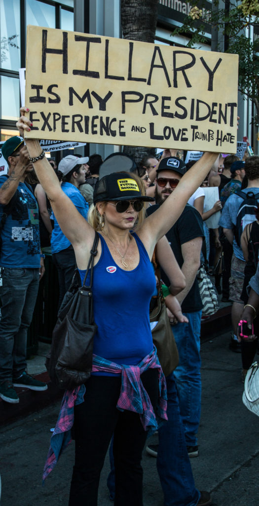 protestwoman